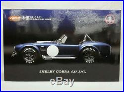 1/12 SHELBY COBRA 427 S/C Vintage Figure Toy Mini car83
