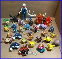 143 Pokemon VTG TOMY Figure Toys Lot 90s & 2000's Collection