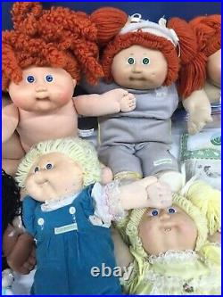 19 CPK Cabbage Patch Kids Plush Dolls & 20 Toy Figures 80s-00s Used VTG Modern