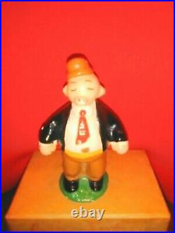 1929 HUBLEY Solid Cast Iron Wimpy Comic Figure with All Original Paint