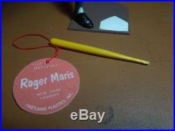 1950- 60 Roger Maris Yankees original Hartland Baseball nr-mt figure + bat +Tag