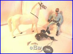 1950's Lone Ranger & Sliver Hartland western 800 series figure + hang tag #2