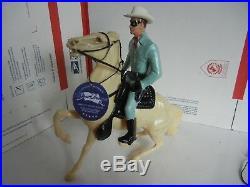 1950's Lone Ranger & Sliver Hartland western 800 series figure semi rearing #1
