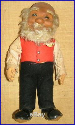1950s 1960s Lot of 20 STEIFF-German Hard Stuffed Animals/FigureVintage Toys