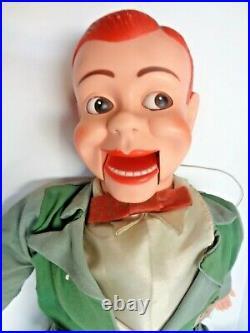 1950s Jerry Mahoney Ventriloquist Dummy Puppet Figure Doll Paul Winchell Green