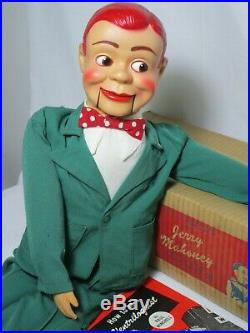 1960 JERRY MAHONEY Ventriloquist dummy puppet figure doll Paul Winchell Juro VTG