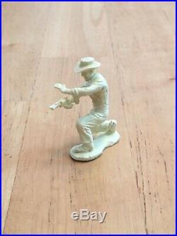 1960 Marx Johnny Ringo Western Frontier Play Set Plastic 54mm Character Figure