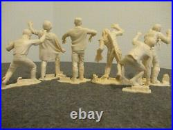 1960s LOT of 6 MARX 6 UNIVERSAL PICTURES MONSTER FIGURES EXCELLENT CONDITION