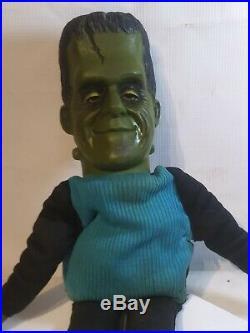 1964 Mattel HERMAN MUNSTER 21 in Doll Toy Figure Original Rare HTF Vintage TV