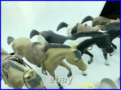 1966 American Character Bonanza Action Figure Lot Horses Accessories Johnny West