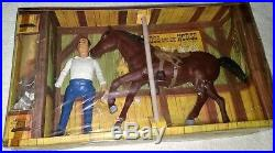 1966 Bonanza Hoss & Horse 12 doll figure misb sealed American Character vintage