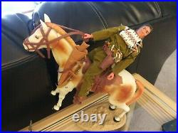 1970's Gabriel Lone Ranger-Silver-Tonto-Scout Horses & Figures Vintage