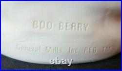 1970s vintage BOO BERRY General Mills Monster Cereal Vinyl TOY SQUUEZE FIGURE