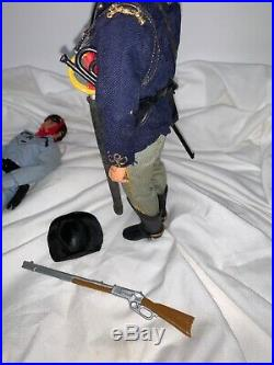 1973 Toy Lone Ranger Tonto Lot Set 3 Gabriel Action Figures VTG 10 70s