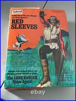 1974 Vintage Original Lone Ranger Red Sleeves Action Figure Gabriel Toys