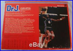 1976 Vintage Shindana Dr J Julius Erving Super Pro Set 9 1/2 Action Figure MIB