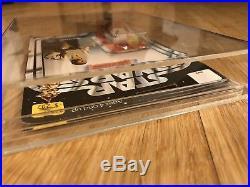 1977 Star Wars Original Luke Skywalker Vintage Action Figure MOC MIP Kenner Toy