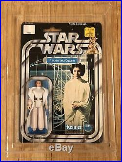 1977 Star Wars Original Princess Leia Organa 12 Back Vintage Figure MOC MIP Toy