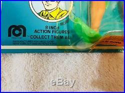 1977 Vintage New on Card Mego 8 ROBIN Action Figure Toy WGSH Superhero NRFC