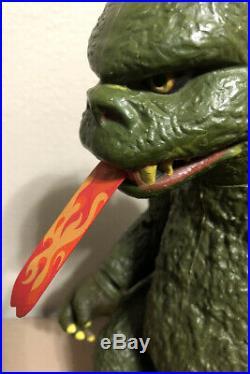1977 Vintage Shogun Warriors Godzilla Mattel Toho Co Ltd Japan Toy Figure