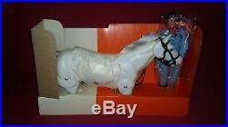 1977 Vintage UNUSED LONE RANGER 10 Figure SILVER Horse In Box MIB Gabriel Dolls