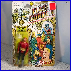 1979 Mattel Flash Gordon Action Figure Moc Vintage Toy Greatest Adventure Sealed