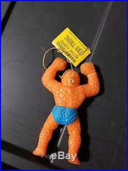 1979 Vintage Ben Cooper Thing Jiggler Figure Mint with Tag Rare Marvel Comics