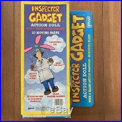 1983 Galoob Inspector Gadget 12 Vintage Toy Figure with Box Look