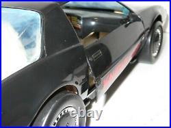 1983 Knight Rider 2000 Voice Car & Kitt Michael Figure Vintage Kenner Toy