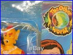 1983 vintage Arco OTHER WORLD figure set SKITZO mip monsters MOC sealed toy RARE