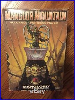 1983 vintage MANGLORS Manglord action figure toy SEALED mib MANGLOR MOUNTAIN set