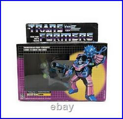 1986 Hasbro Transformers SHARKTICON GNAW G1 Figure Statue Vintage Robot Toy