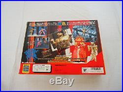 1987 Saint Seiya Gold Cloth Gemini Saga Vintage Action Figure Toy Bandai Toei