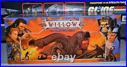 1988 Willow Eborsisk Dragon toy figure Tonka Lucas Film SEALED Kenner vintage 80