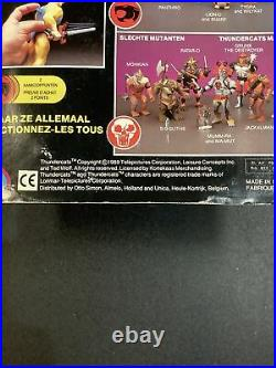 1989 VINTAGE THUNDERCATS ENEMY CAPTAIN CRACKER New on CARD ACTION FIGURE TOY