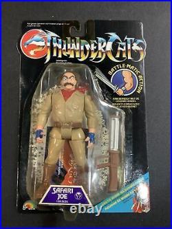 1989 Vintage Thundercats Enemy Safari Joe New On Card Action Figure Toy Ljn Moc