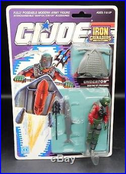 1989 vintage GI Joe UNDERTOW action figure MOC sealed toy Hasbro Iron Grenadiers