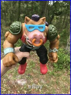 1990 BEBOP Giant Size TMNT 12 Vintage Action Figure Mirage Studio Playmates Toy