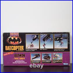 1990 Kenner Batman Batcopter Toy For Action Figures Vintage New