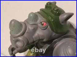 1990 Rocksteady Giant Size TMNT 12 Vintage Action Figure Mirage Playmates Toy
