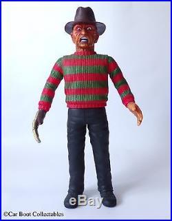 1997 Medicom Freddy Krueger 12 Vinyl Action Figure Vintage Horror Toy, Japan