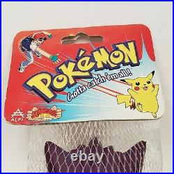 1999 Pokemon GENGAR Alpi Squeeze Toy Vintage Pocket Monsters Stress Ball NIP
