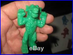 7 Vintage 1964 PALMER Movie Monster Figures Kong, Fay Wray, Choice Colors Group
