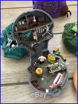 8 x Vintage MIGHTY MAX Compacts Playsets & Figures Bluebird Toys Bundle Joblot