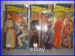 9 Vintage Mattel Space 1999 figures full set moc