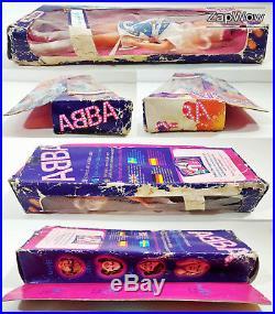 ABBA ACTION FIGURES 1973 Anna Frida Benny Bjorn Lesney Hasbro Matchbox Vintage 1