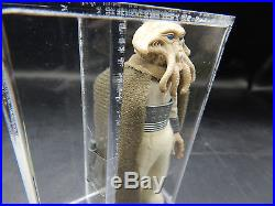 AFA 90 vintage Star Wars SQUID HEAD action figure Kenner 1983 alien toy HK coo