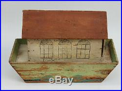 ANTIQUE WOOD TOY NOAH'S ARK TOY with 19 FIGURES