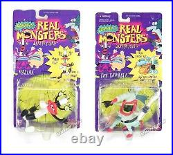 Aaahh Real Monsters Mattel Action Figure Toy Nickelodeon 90s Vintage MOC