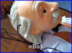 Albert Einstein Huge Marionette Puppet Vintage Figure 26 9 String New, Tag, Box